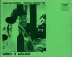 Summer 1974 Catalog by Sacred Heart University