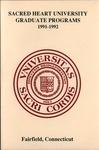 1991-1992 Graduate Catalog