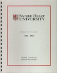 2002-2003 Graduate Catalog