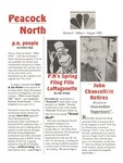 Peacock North August 1993 Newsletter by Peacock North Staff