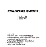 Horizons, Volume 29, Spring 2014 by Sacred Heart University
