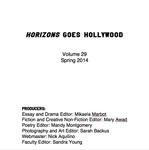 Horizons, Volume 29, Spring 2014