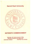 Commencement 1982 by Sacred Heart University
