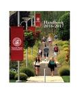 Handbook 2016-2017 (Student) by Sacred Heart University
