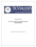 St. Vincent's College at Sacred Heart University Faculty Handbook, September 14, 2018